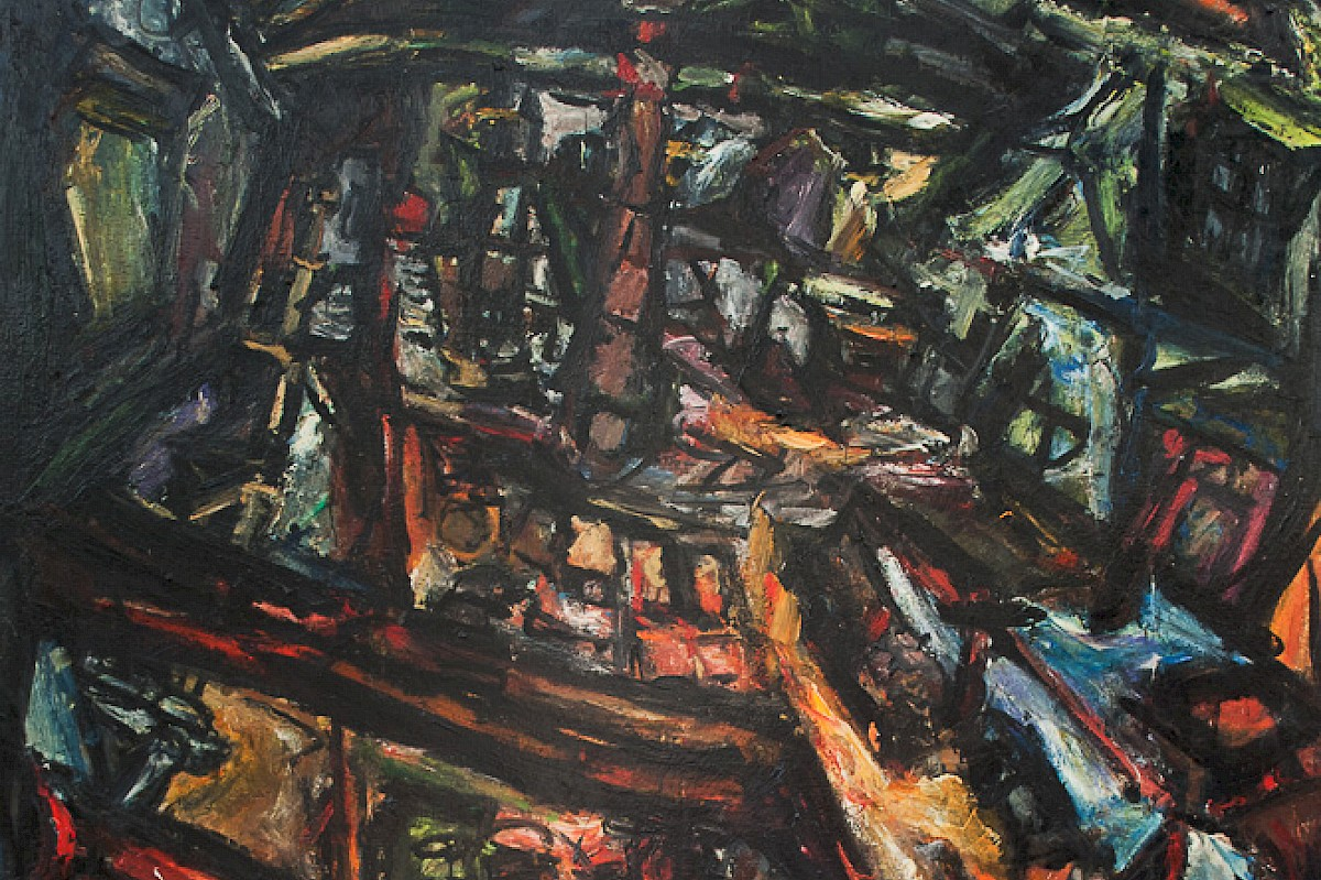 Large foundry painting (1994)