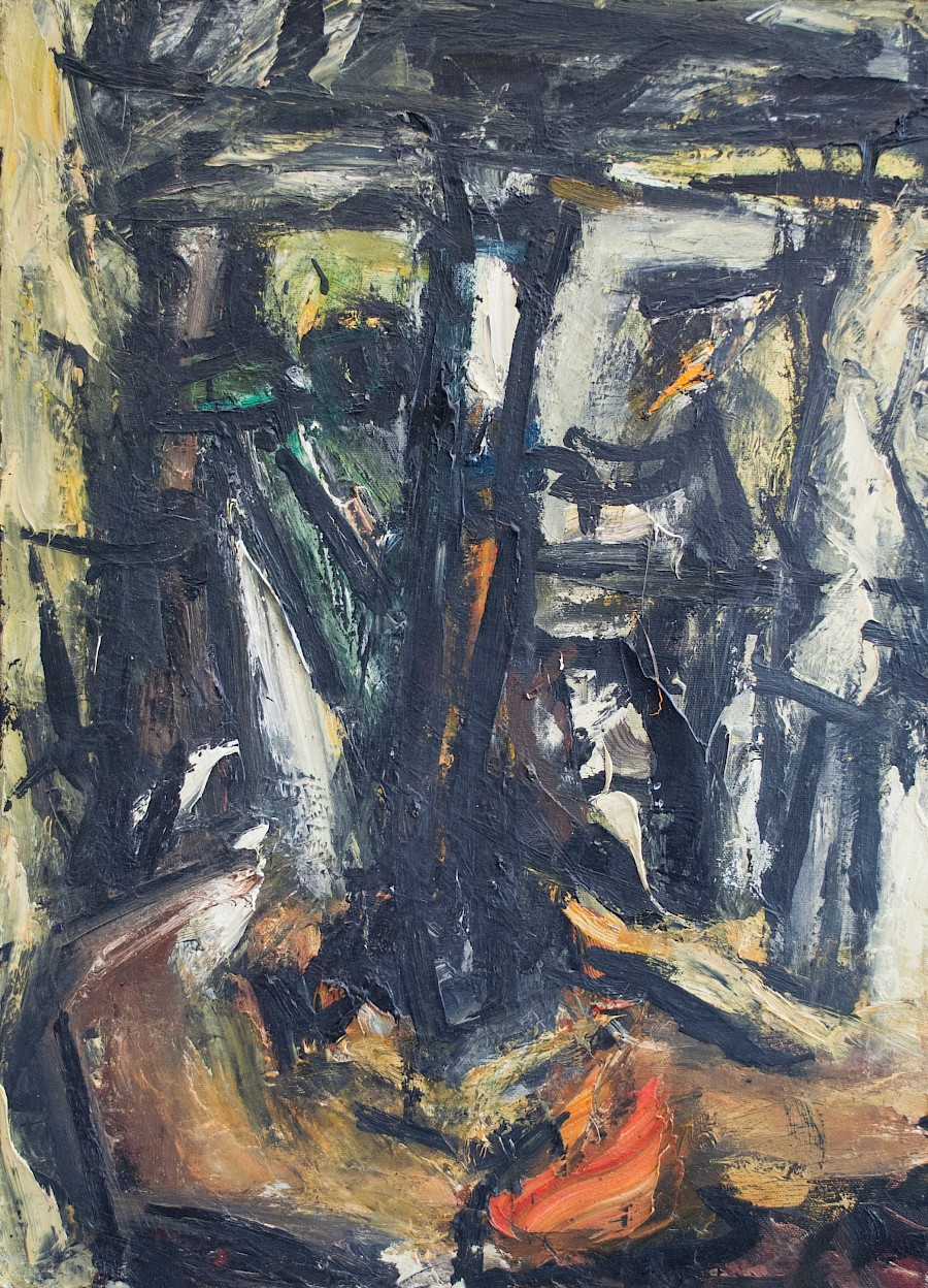 May 2020, Study for Foundry Painting, 1993